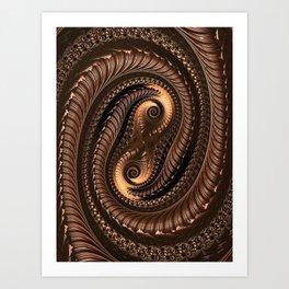 Chocolate Delight Art Print