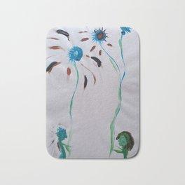 Courting Amongst Flowers Bath Mat