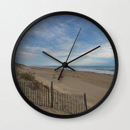 Landes Coast Wall Clock
