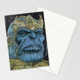 Thanos of Titan Stationery Cards