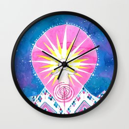 Sun of God Wall Clock