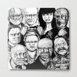 Breaking Bad Cast Metal Print