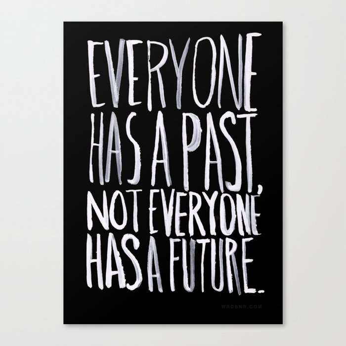 Past/Future Canvas Print