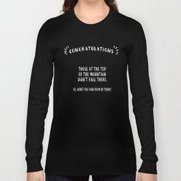 Congratulations Long Sleeve T-shirt