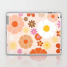 Groovy 60's Mod Pastel Flower Power Laptop & iPad Skin