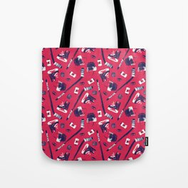 Tools of a Hockey Player Tote Bag