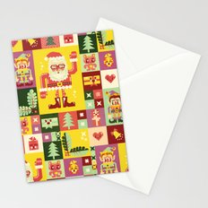 Christmas Geometric Pattern No. 1 Stationery Cards