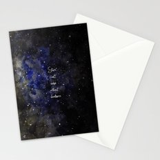 stars cant shine without darkness Stationery Cards