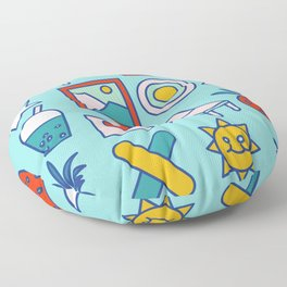 Summer vacation Floor Pillow
