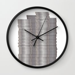 Pieces of Silver Wall Clock