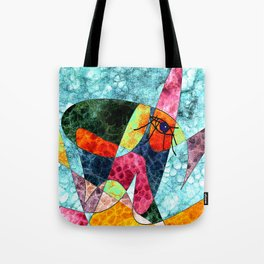 The laughing horse Tote Bag