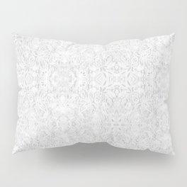 White Lace Pillow Sham