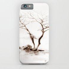 Scots Pine Sepia iPhone 6s Slim Case