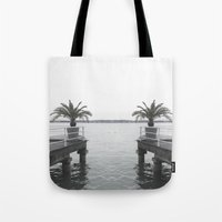 palm Tote Bags featuring Palm by Sarah Friend