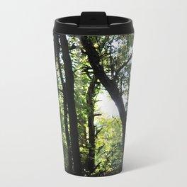 Light Through the Trees Metal Travel Mug
