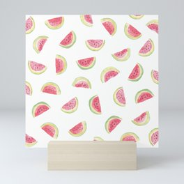 Watermelon slices Mini Art Print