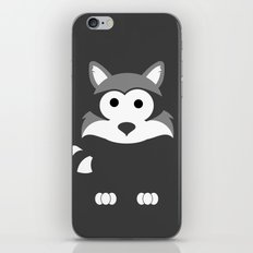 Minimal Raccoon iPhone & iPod Skin