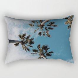 Palm Tree Summer Fun Rectangular Pillow