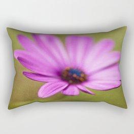 Purple Textured Flower II Rectangular Pillow