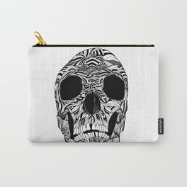 The Carved Skull Carry-All Pouch