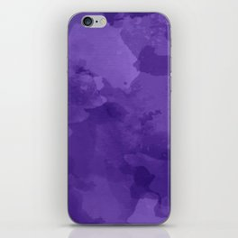 amethyst watercolor abstract iPhone Skin