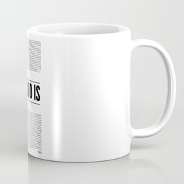 My God Is  (identity series)  Coffee Mug
