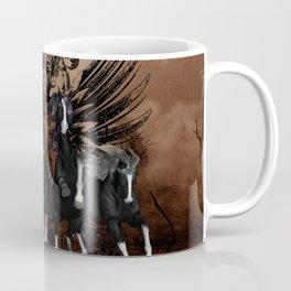 Awesome wild horses Coffee Mug