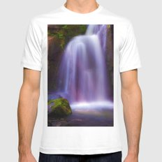 Glimpse of Magic White Mens Fitted Tee SMALL