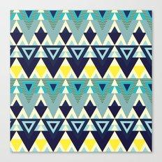 Geometric chic Canvas Print