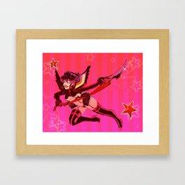 S T A R S Framed Art Print