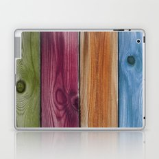 Wooden Rainbow Laptop & iPad Skin