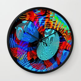 Gazing Inward Wall Clock