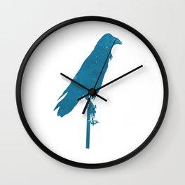 Le Raven' Wall Clock