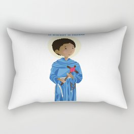 St.Benedict of Palermo Rectangular Pillow