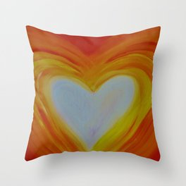 HEART OF LOVE Throw Pillow