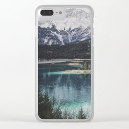 Eibsee II Clear iPhone Case