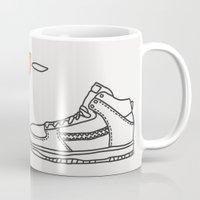 sneaker Mugs featuring Sneaker by YTRKMR