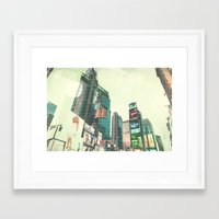 sex and the city Framed Art Prints featuring Sex and the City by PIXERS