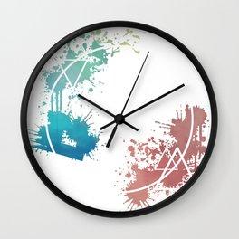 Spring Circle Wall Clock
