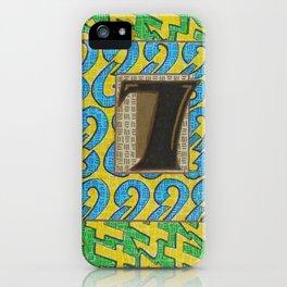 Alpha-Numero: Seven iPhone Case