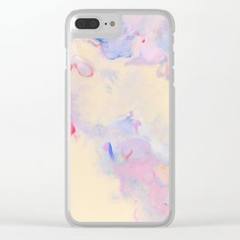 Pastel carnival Clear iPhone Case
