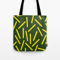 fries Tote Bags featuring Fries by Alberto Antoniazzi