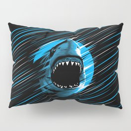 Shark Lines attack Pillow Sham