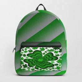 Lucky 4 Leaf Clover Backpack