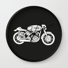 Norton Model 30 - Cafe Racer series #2 Wall Clock