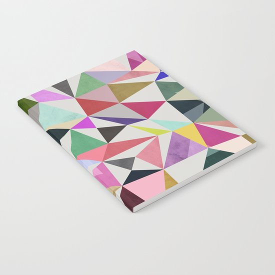 colour + pattern 18 Notebook