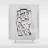 dirty dancing Shower Curtains featuring Dirty by 5wingerone