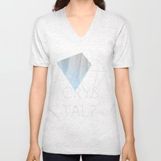CRYSTAL? Unisex V-Neck