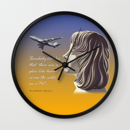 Electric Light Orchestra - Calling America Wall Clock