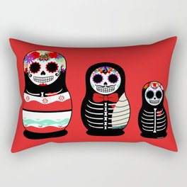 Halloween Russian dolls Rectangular Pillow